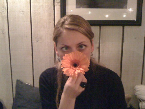 elsa and flower