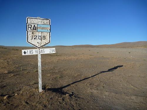 Pause à Bajo Caracoles, ville de western sur la Ruta 40