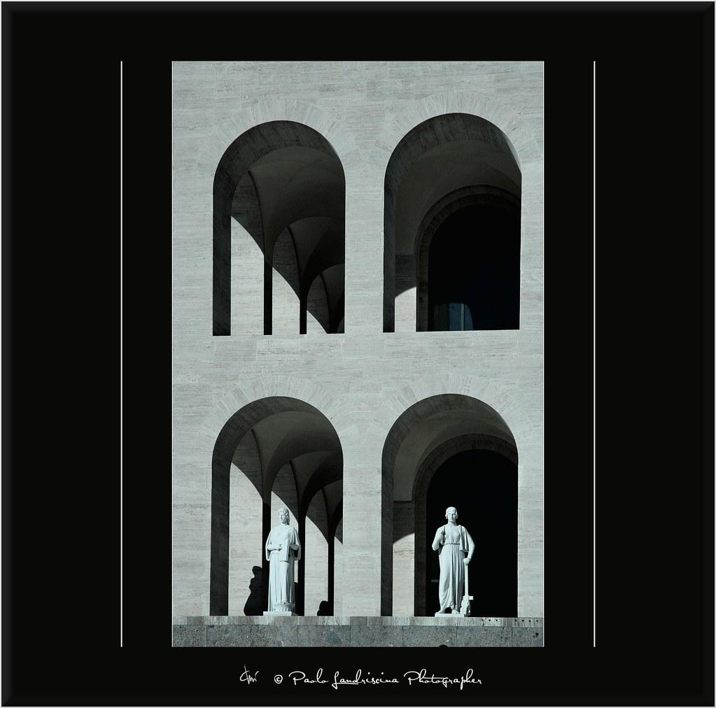 Colosseo Quadrato, lavori finiti - Il Palazzo-museo aprirà nel 2012