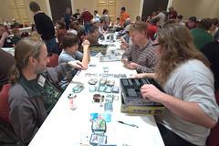 PrezCon 2011 (Eric E Haas) Tags: virginia gaming charlottesville boardgames dominion sigma1020mm albemarlecounty prezcon sonydslra700 prezcon2011