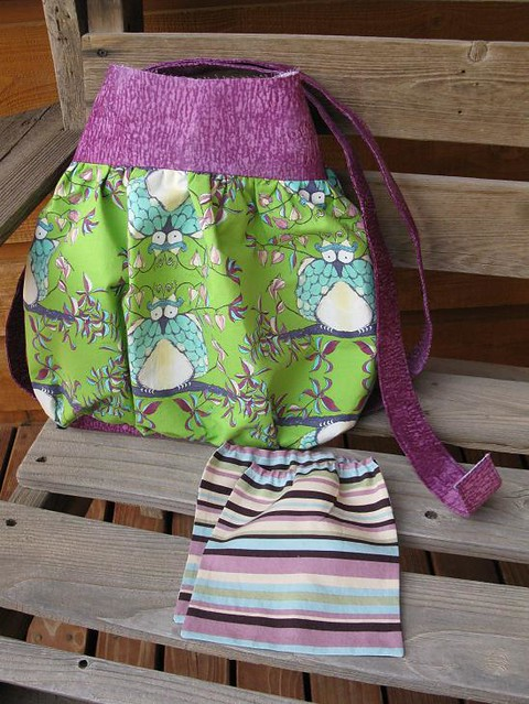 Steps 7-8: Finish outer shell & make pockets (tote #1)