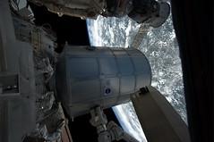 Leonardo installed on ISS (astro_paolo) Tags: astronaut nasa leonardo iss esa internationalspacestation europeanspaceagency pmm expedition26 sts133 magisstra