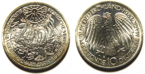 10 DM Alemanes