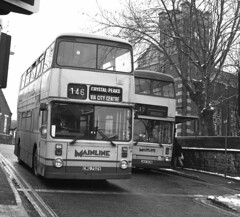 Atlanteans at Hillsborough (CovkidAl) Tags: road crystal south sheffield yorkshire transport 1996 marshall forbes greenland 1981 peaks 1979 roe leyland hillsborough meadowhall 1833 1756 mainline pte atlantean an68 cwg752v jkw333w