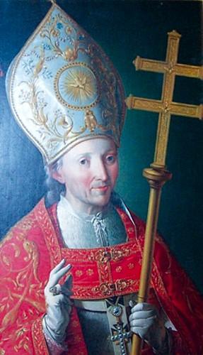 Retrato del Cardenal Lorenzana. Catedral de Toledo, Sala Capitular. Obra de Zacarías González Velázquez.