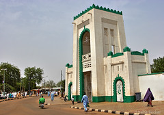 Sultan's palace, Sokoto - Explored (Irene Becker) Tags: africa muslim islam traditional hijab explore westafrica nigeria tradition 2009 emir nga khimar sokoto explored blackafrica arewa northernnigeria jalingo mygearandme irenebecker sokotostate nigerianimages nigerianphotos imagesofnigeria northnigeria emirpalace nigerianpalace irenebeckerorg