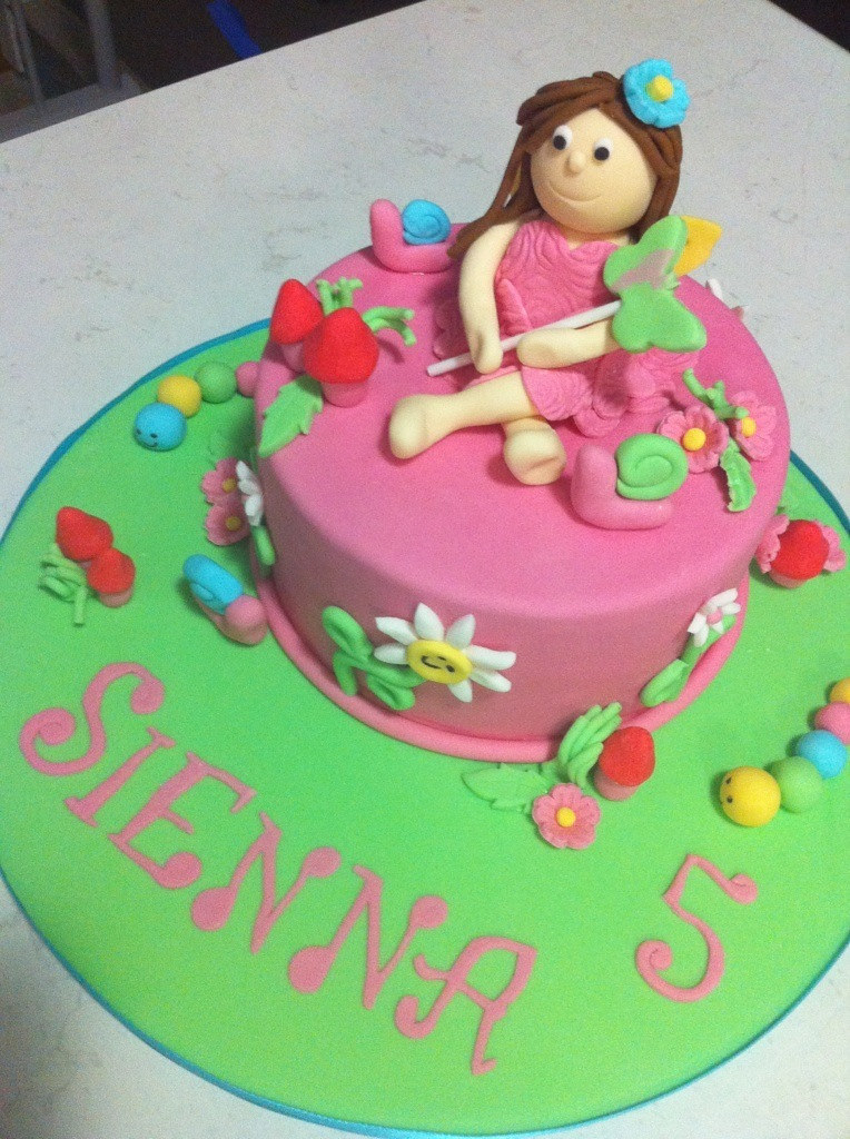 Sienna Cake Topper