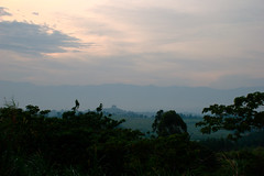 The Rwenzori at dusk