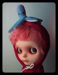 Squid as hat