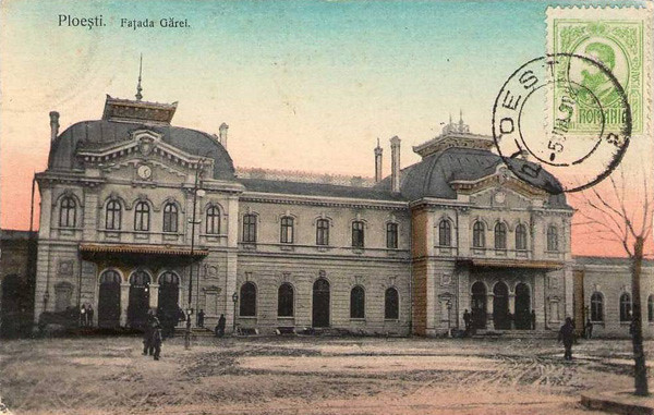 Gara de Sud - 1908 - 1