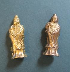 fake buddha on left