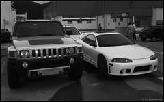 Hummer H3 & Mitsubishi Eclipse GS-T (#Luks) Tags: floripa brazil costa white cars car branco brasil silver eclipse h3 4x4 garage florianópolis lucas 98 jurere florianopolis carros carro alpha hummer gst mitsubishi gsx jurerê lucasrcosta