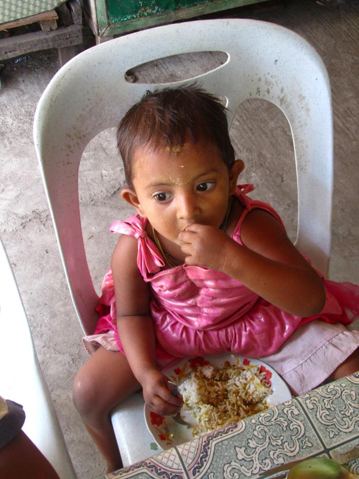 Meal Time in Burma