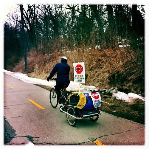Stop the Attack on Wisconsin Families -- and Bike Paths