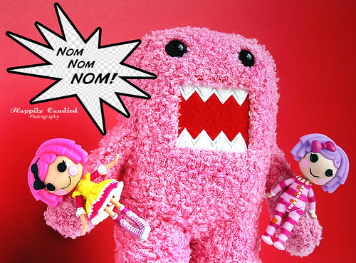 Breaking News: Pink Domo Attacks!