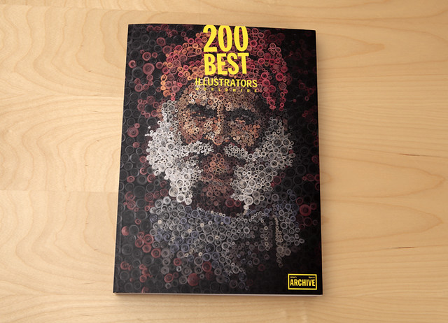 200 best illustrators. Cover