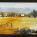 Homestead painting by Atlanta artist Thomas L. Wood