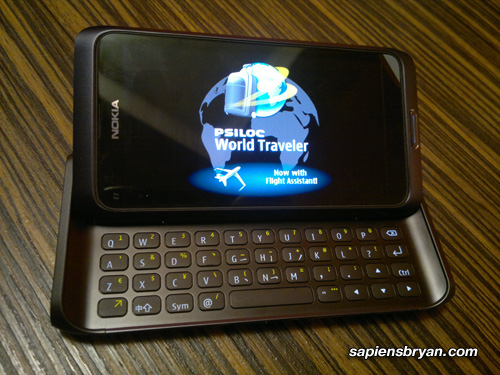 Nokia E7 World Traveler