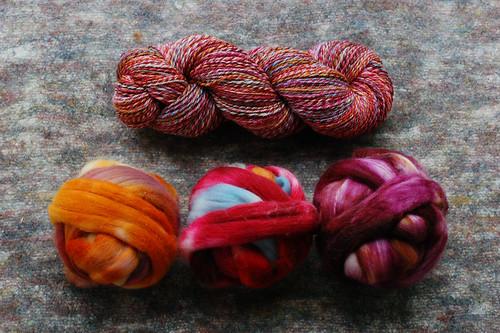 Combo SAL Yarn & Fiber 1