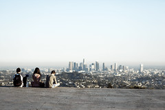 Over LA (Nick Keating) Tags: california park friends la los downtown view angeles hike griffith