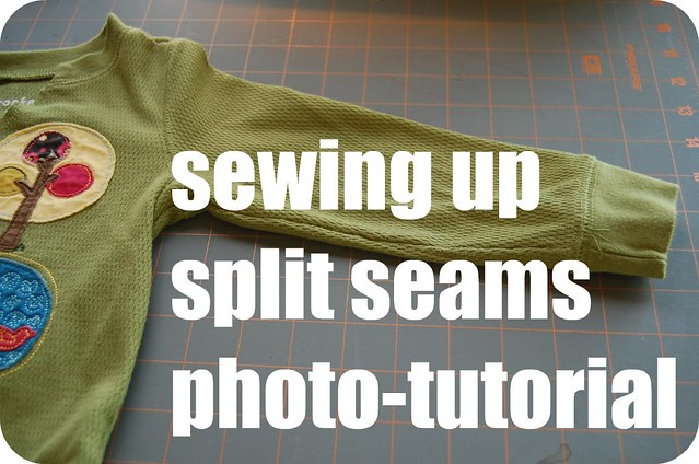 split seam tutorial