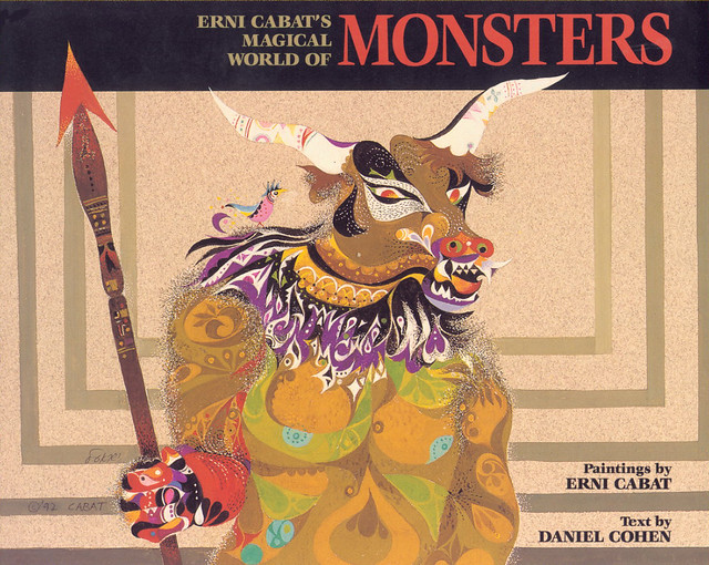 Erni Cabat (Magical World Of Monsters 1992) Cover