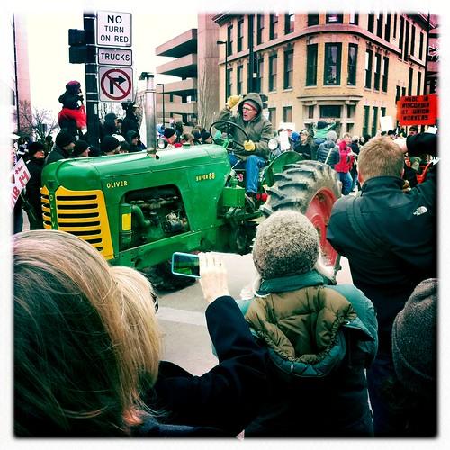 Tractorcade!