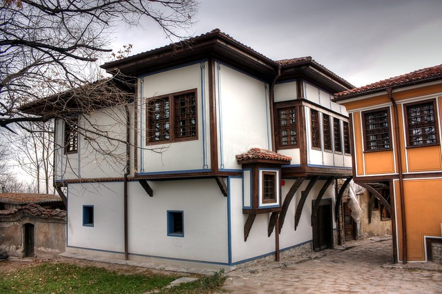 Buildings in Plovdiv