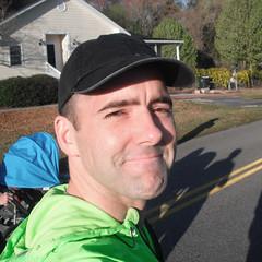 Brian at the Flowertown Festival Run, 2011