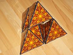 A pyramid of pyramids