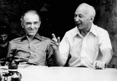 Robert Doisneau et André Kertész en 1975