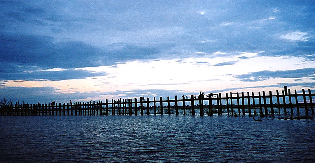 U Bein Bridge -Burma (4a)