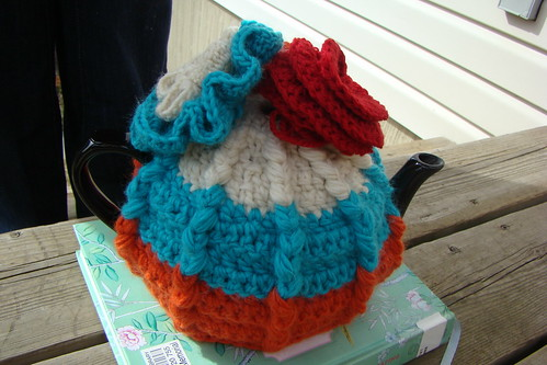 tea cosy with ridges
