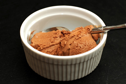 malted chocolate guinness ice cream
