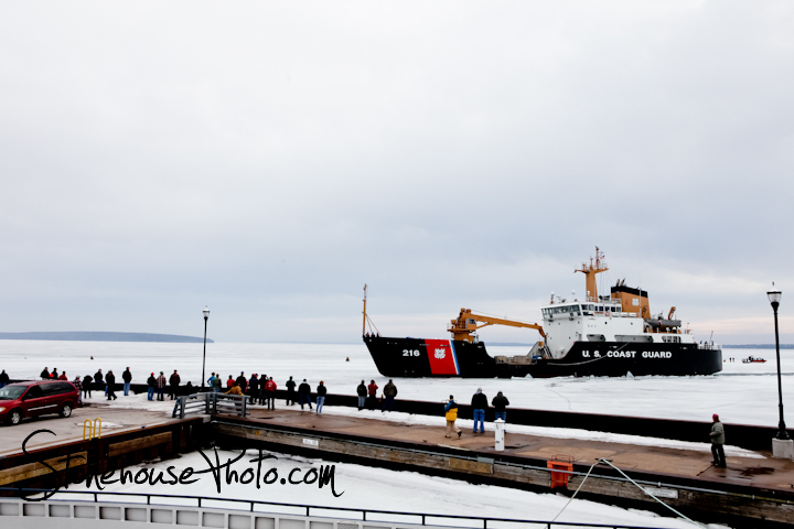 USCG Cutter ALDER in Bayfield, WI