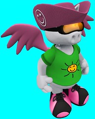Torley Avatars 548 (▓▒░ TORLEY ░▒▓) Tags: pink green grid persona neon transformation expression character avatar linden watermelon identity secondlife virtual crop variety bluescreen manifestation shapeshifter torley olmstead incarnation