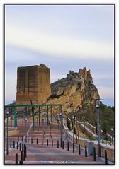 Castell de Xixona ( Marco Antonio Soler ) Tags: espaa castle la spain nikon torre 11 iso alicante vista jpg grossa marzo castillo hdr desde mar alacant 2011 jijona xixona d80
