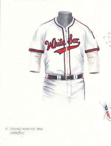 chicago white sox shorts uniform. Chicago White Sox 1942 uniform