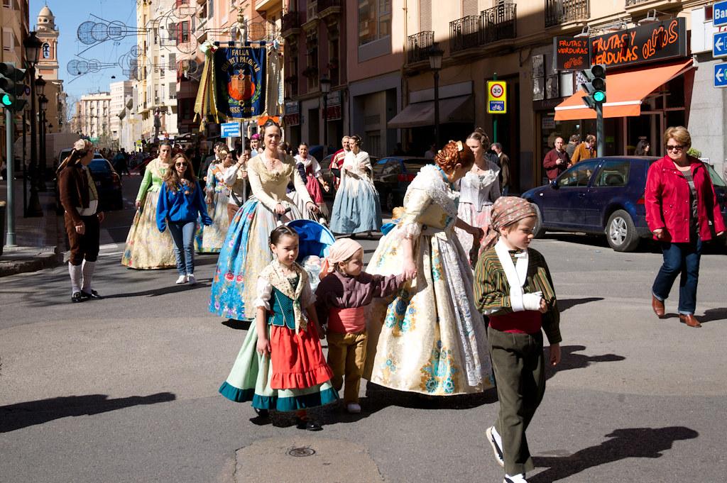 Random Fallera Procession
