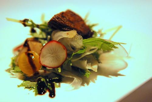 Portabello Mushroom, Mizuna Greens
