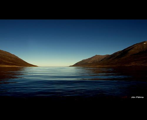 Deep blue by Jón Pálma
