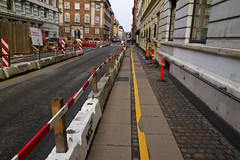 Roadworks Side Street