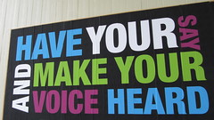Speak up, make your voice heard by HowardLake, on Flickr