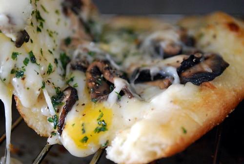 Wild Mushroom Pizzette