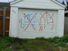 RIVALS (northwestgangs) Tags: graffiti washington longview gangs x4 xiv ssn x3 ssl cpg surenos13 nortenos14