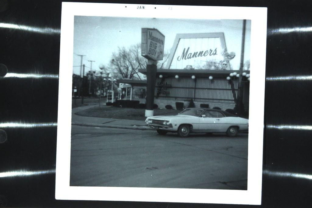 Manners Big Boy, Bedford, Ohio 1973