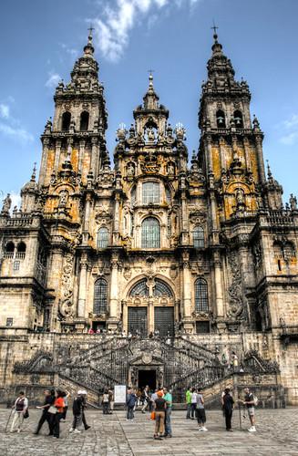 Cathedral. Santiago de Compostela. Catedral