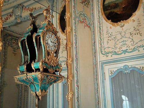 reflective clock.
