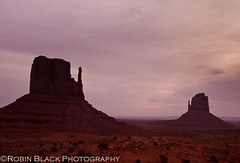 Left Hand, Right Hand (The Mittens, Monument Valley) (Robin Black Photography) Tags: southwest sunrise utah sandstone desert ngc scenic grand highdesert navajo slickrock monumentvalley naturalwonder iconic nationalmonument nationaltreasure naturesbest nationalgeographic rockformation buttes americansouthwest navajonation amazingview rockforms outdoorphotographer canon5dmarkii robinblackphotography