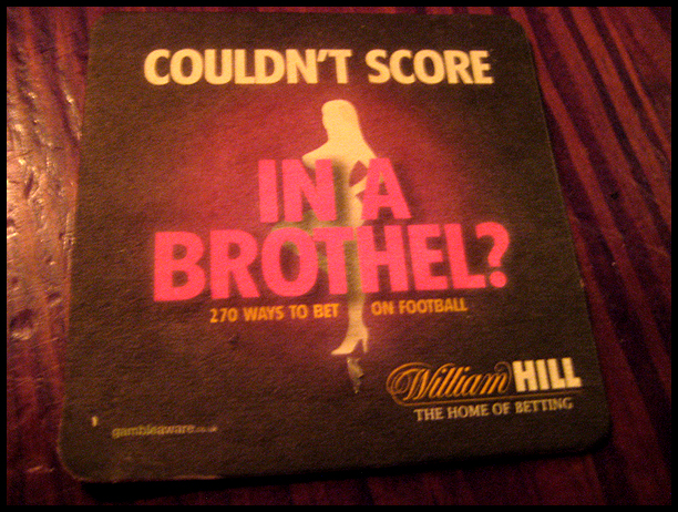 Shame on you, William Hill